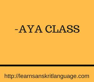 -AYA CLASS
