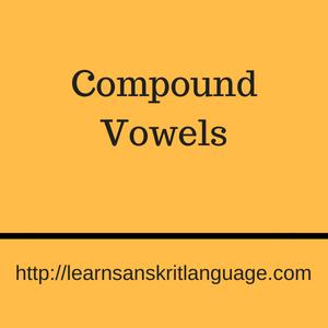 Compound Vowels