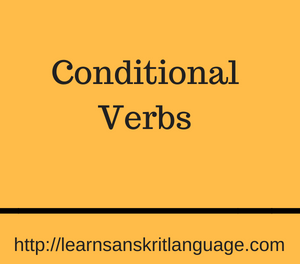 Conditional Verbs
