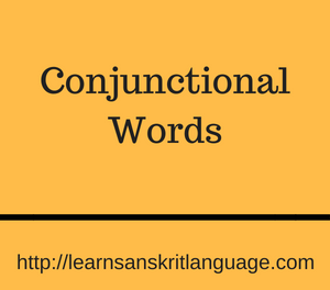 Conjunctional Words