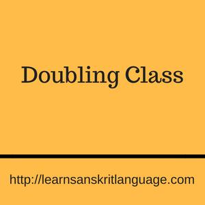 Doubling Class