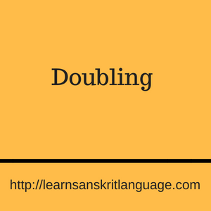 Doubling