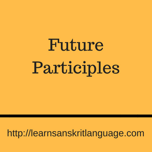 Future Participles