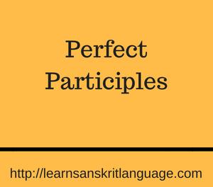 Perfect Participles