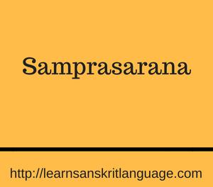 Samprasarana