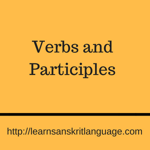 Verbs and Participles