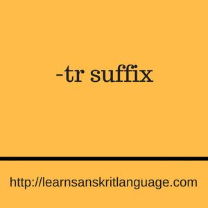 -tr suffix